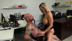 Large boobs blonde haired Jasmine Jae wishes for nailing HD