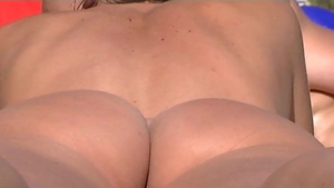 Amateur wishes nudist hard sex at the beach HD