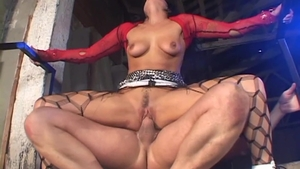 Hard pounding in the company of Katrina Kraven and Lily Carter