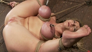 BDSM in the company of busty chick Sara Jay