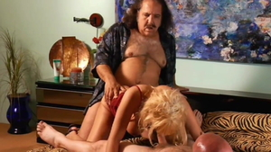 Pussy sex with Sunset Thomas & Ron Jeremy