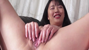 Japanese brunette Pink Pussy close up got nailed