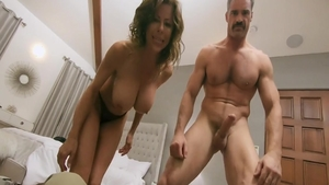 Fucking accompanied by stepmom Alexis Fawx