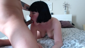 Hard ramming in company with big ass pawg