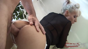 Amateur deutsch Poppy Morgan rough doggy sex