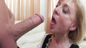 Erotic Nina Hartley does what shes told