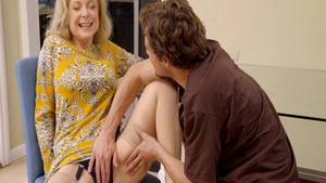 Hottest MILF Nina Hartley being pounded by Tyler Nixon