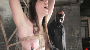 Fisting escorted by passionate chick Bobbi Starr
