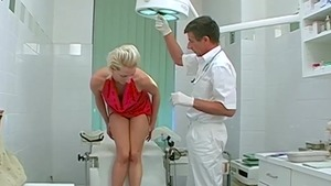 Very nice doctor forced got her pussy smashed