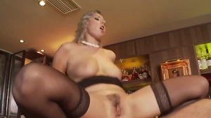 Brutal blowjobs together with young blonde babe Daria Glover