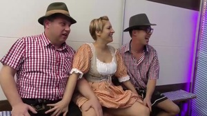 Shaved german amateur extreme group sex in HD