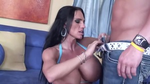Rough hard pounding along with incredible MILF Lisa Li