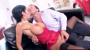 Busty big boobs mature Angelina Valentine hardcore blowjobs
