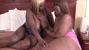 Pierced ebony mature has a taste for raw sex