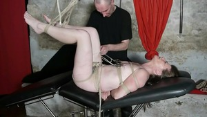 BDSM together with french housewife