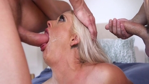 Group sex starring busty wife Holly Heart