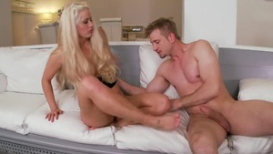 Inked couple Holly Heart craving good fucking in HD
