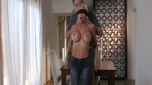 Busty and hairy mature Alexis Fawx deepthroat