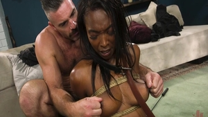 Large tits and very sexy Daya Knight dick sucking