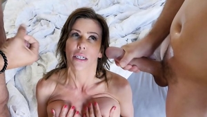 Big boobs pornstar has a taste for plowing hard