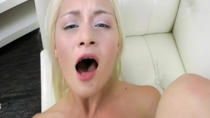 Teen chick Olivia Jameson among Goldie Baby doggy fuck