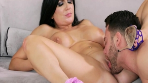 Big tits Romi Rain brunette fucked in the ass porn