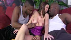 Orgy porn starring passionate romantic Brooklyn Chase