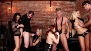 Group sex in the company of very kinky girl