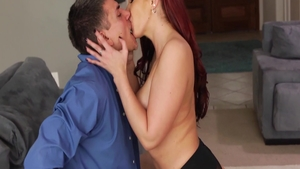 Very sexy Kelly Divine dick sucking