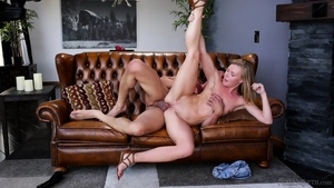 Blonde babe has a thing for hard ramming