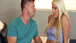 Hawt and big ass blonde babe raw blowjobs