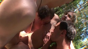 Accident russian group sex outdoors