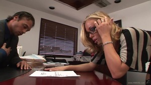 Secretary creampie in office HD