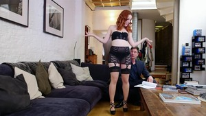 Pussy fucking with redhead Amarna Miller