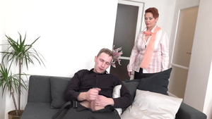 Young MILF taboo cock sucking