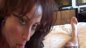 Very hawt american babe Eva Notty has a thing for loud sex