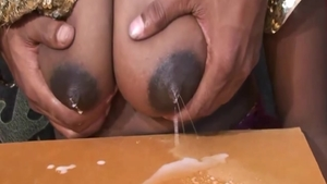 Large tits & horny stepmom pussy eating