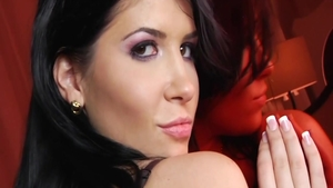 Hottest Rebeca Linares bends to get fucked