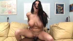 Busty girl Lylith Lavey plowed by big dick stud
