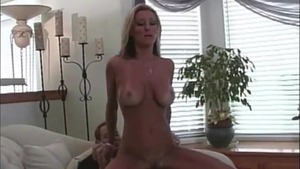 Hard sex with tanned blonde haired