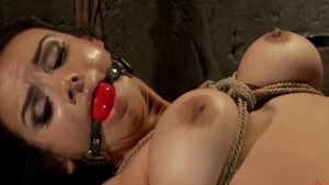 Nadia Styles in stockings and Ariel X
