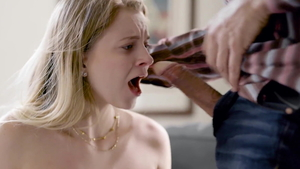 Teen chick Riley Star taboo throat fucking