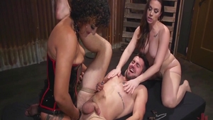 Hardcore hard ramming with filthy MILF Daisy Ducati