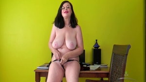 Nailed rough starring large boobs MILF