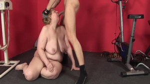Sex scene along with thick whore
