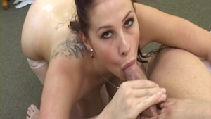 Busty Gianna Michaels in sexy stockings oil cumshot