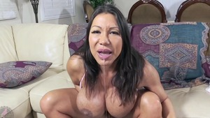 Solo busty and wet stepmom Ava Devine bouncing