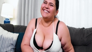 POV rough nailing together with beautiful BBW Karla Lane