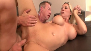 Stepmom has a passion for good fucking in HD