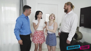 Nailed rough together with hairy Aria Banks amongst Riley Jean